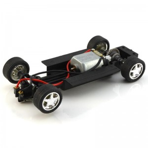 PCS 32 Complete Adjustable Chassis with 5 Spoke Chrome Wheels