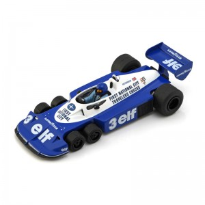 PCS Tyrrell P34 F1 Six-Wheeler Kit