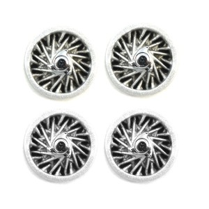 PCS Wheel Inserts 10mm Wire Spokes with Spinners