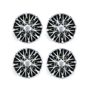PCS Wheel Inserts 12mm Wire Spokes with Spinners
