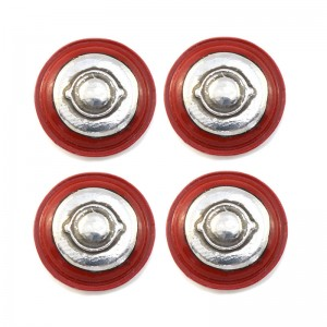 PCS Wheel Inserts 12mm Jaguar Steel