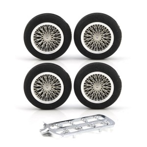 PCS Vintage 23'' Spoked Alloy Wheel Set-6