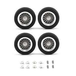"PCS Classic 19"" Spoke Alloy Wheels & Tyres 25x7mm x4"