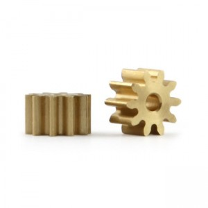 Slot.it Brass Pinion 10 Teeth 6mm 1.5mm PI6010O15