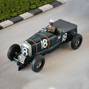 Penelope Pitlane Bentley Blower 4.5 Litre French GP 1930