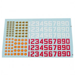 PSR Classic Numbers & Badges Decals PSR-D02