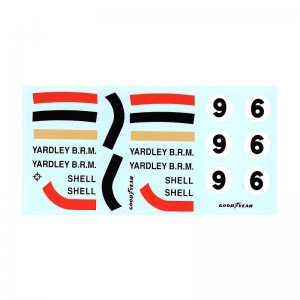 PSR Yardley BRM F1 Decals