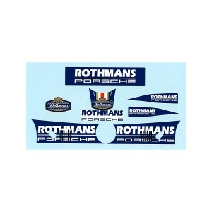 Slot.it Rothmans Porsche Decals