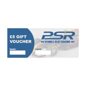 PSR Gift Voucher £5