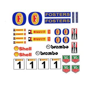 PSR Vinyl Stickers Various Logos 7 PSR-S10