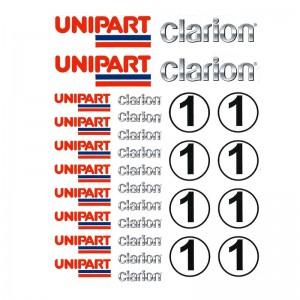 PSR Vinyl Stickers Various Logos 9