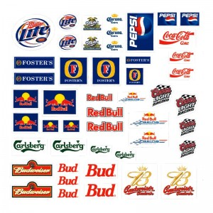 PSR Vinyl Stickers Various Logos 12