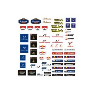 PSR Vinyl Stickers F1 Logos