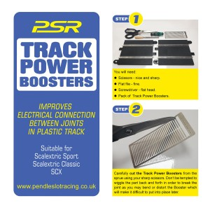 PSR Track Power Boosters