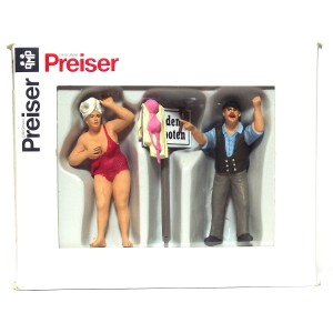 Preiser No Swimming PZ-63091