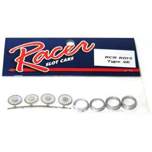 Racer Chaparral 2E Wheel Inserts RCR-RI05
