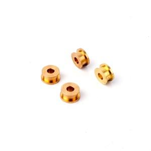 SRC 6 Edge Brass Axle Bushings x4
