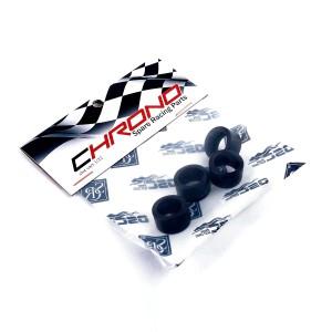 SRC Slick Ultragrip Tyres Black Pat 17.1x9.5