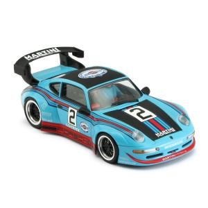 RevoSlot Porsche 911 GT2 No.2 Martini Blue
