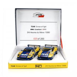 RevoSlot Ferrari F40 Igol Twin Pack