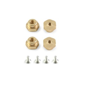 RevoSlot Brass Nuts & Screws H3.0mm