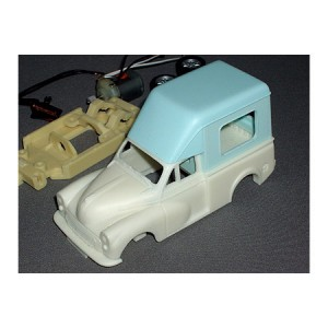 Morris Minor Ice Cream Van Resin Kit RSB85