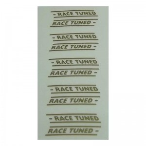 RUSC Race Tuned Decals Gold