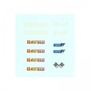 RUSC Marshal Vanwall KLG Scalextric Decals