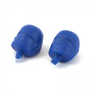 RUSC Motorcycle Heads Blue Pair