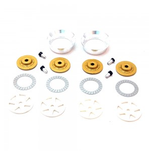 BRM Wheel Inserts BBS 6 Spokes White S-019W