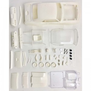 BRM Chevrolet Camaro White Body Kit - 1:24th Scale