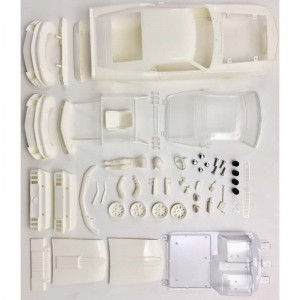BRM Ford Mustang Boss 302 White Body Kit - 1:24th Scale