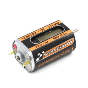 Scaleauto Long-Can Sprinter-1 Motor 18,000rpm