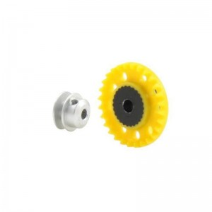 Scaleauto Nylon Crown Gear Inline 28t