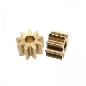 Scaleauto Brass Pinion 9t 2mm
