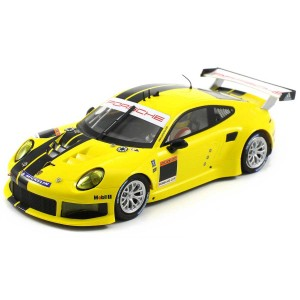 Scaleauto Porsche 991 Cup Racing Kit Yellow