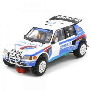 Scaleauto Peugeot 205 T16 Pioneer Dakar 1989