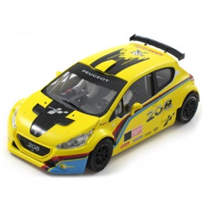 Scaleauto Peugeot 208 T16 Rally Cup Edition Yellow