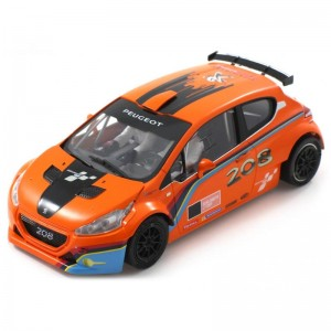 Scaleauto Peugeot 208 T16 Rally Cup Edition Orange