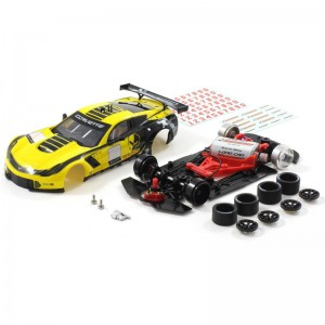 Scaleauto Chevrolet Corvette C7R GT3 Cup Edition Yellow/Black