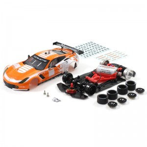 Scaleauto Chevrolet Corvette C7R GT3 Cup Edition Orange/White