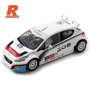 Scaleauto Peugeot 208 T16 Rally Ypres 2013 R-Series