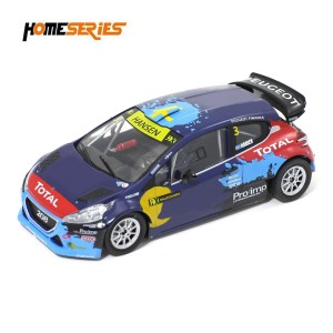 Scaleauto Peugeot 208 T16 No.3 WRX Istanbul 2014