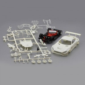 Scaleauto Mercedes AMG GT3 White Racing Kit