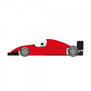 Scaleauto Formula 90-94 Cup Edition Red