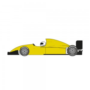 Scaleauto Formula 90-94 Cup Edition Yellow