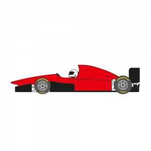 Scaleauto Formula 95-97 Cup Edition Red
