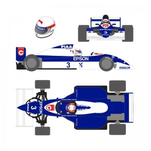 Scaleauto Formula 1990 No.3 Blue/White Satoru N