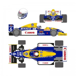 Scaleauto Formula 1990 No.5 Blue/Yellow Riccardo P