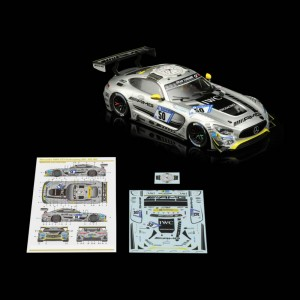 Scaleauto Mercedes AMG GT3 Nurburgring 24h 2017 No.50 Race Kit with Decals